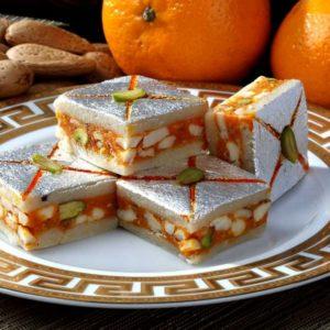 Orange-Dry-Fruit-Barfi