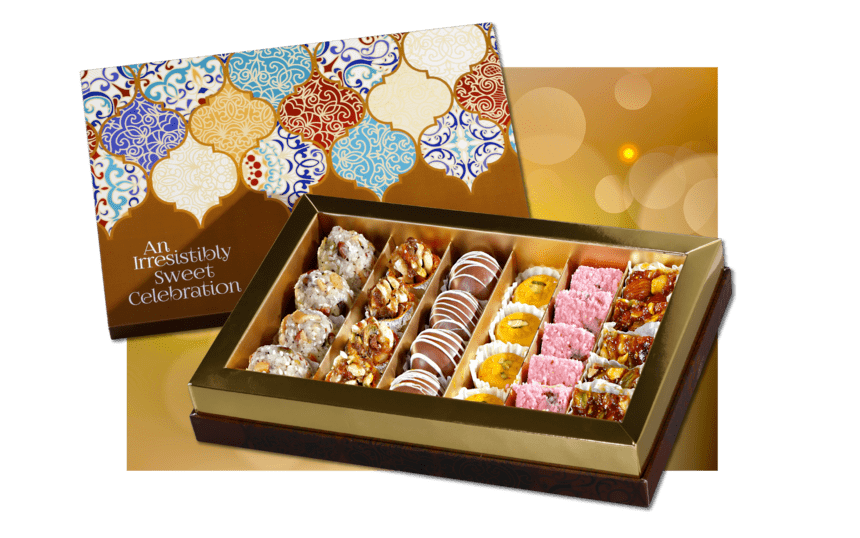 Choicest Sweet box from kamat shireen - diwali 2020