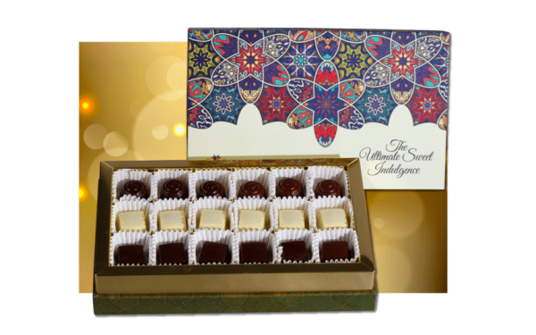 Gourmet Chocolate sweet box from kamat shireen - diwali 2020