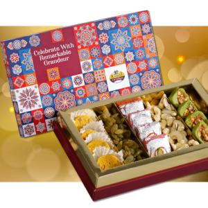Majestic sweet box from kamat shireen - diwali 2020