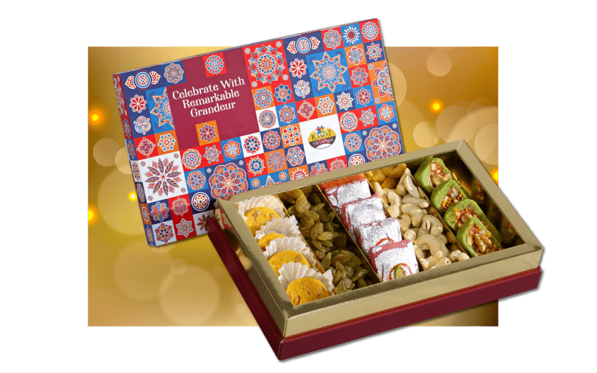 Majestic sweet box from kamat shireen - diwali 2020